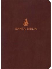 RVR 1960 Biblia Letra Súper Gigante con Índice (Piel fabricada, marrón)