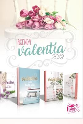 Agenda Valentía 2019 Deluxe (Pasta flexible)