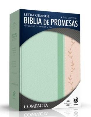 RVR 1960 Biblia de Promesa Compacta (Tapa piel especial)