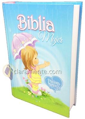 Biblia Mujer Precious Moments con Concordancia (Tapa Dura)