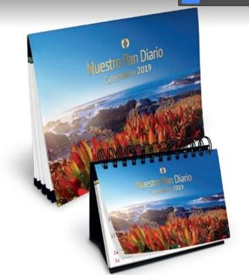 NPD Calendario de Escritorio 2019 - Paisaje (Rústica)