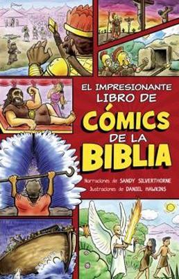 El Impresionante Libro de Cómics de la Biblia (Rústica)