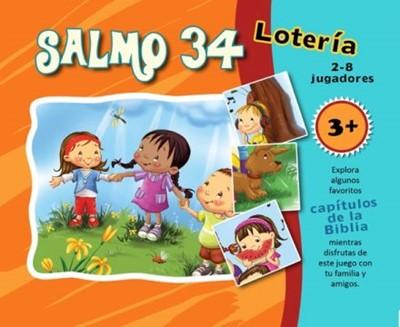 Salmo 34 para Niños (Lotería) (Caja de Cartón)