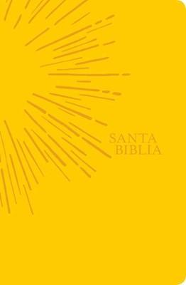 NTV Biblia Económica Edición Ágape (Imitación de cuero, amarillo)