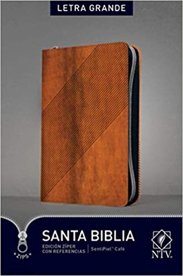 NTV Biblia con Letra Grande y Referencias (Imitation Leather)