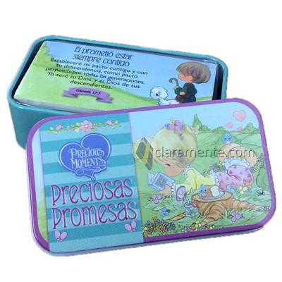 Cajita de Promesas Precious Moments (Caja Metálica)