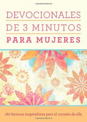 Devocionales de 3 Minutos para Mujeres (Rústica)