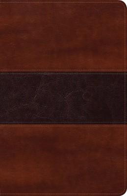 Biblia Peshitta Caoba (Tapa simil piel dos tonos caoba)