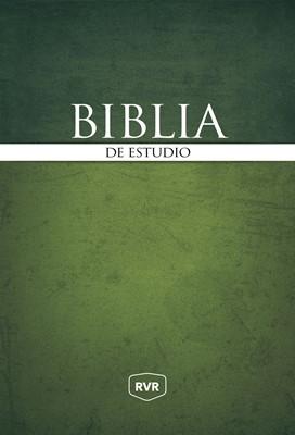 RVR Biblia de Estudio (Tapa Dura)