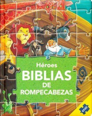 Héroes:Biblias de rompecabezas (Tapa Dura)