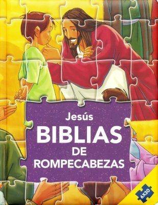 Jesús:Biblia de Rompecabezas (Rústica)