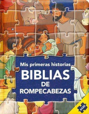 Biblias de Rompecabezas: Mis Primeras Historias (Tapa Dura)
