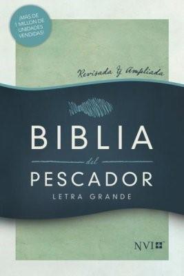 NVI Biblia del Pescador Letra Grande (Tapa Dura, Verde)