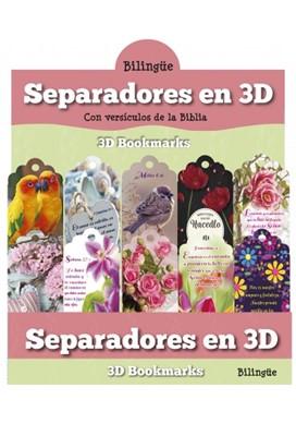 Separadores 3D Mujeres Bilingue (Plástico duro)