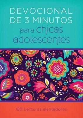 Devocional de 3 Minutos para Niñas Adolescentes (Rústica)