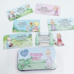Caja de Promesas Para Ti Precious Moments (Metálica)