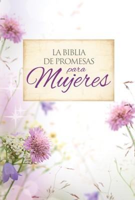 RVR 1960 Biblia de Promesas Letra Grande Floral Zipper (Piel especial, floral)