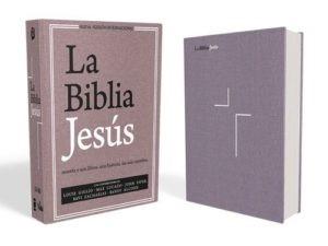 NVI La Biblia Jesús (Tapa Dura, Lavanda)