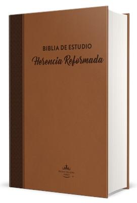 RVR 1960 Biblia De Estudio Herencia Reformada (Tapa dura café)