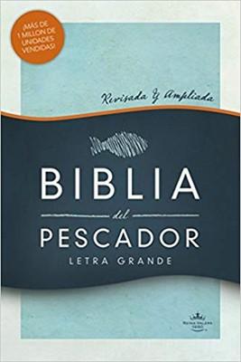 RVR 1960 Biblia del Pescador Letra Grande (Tapa Dura)