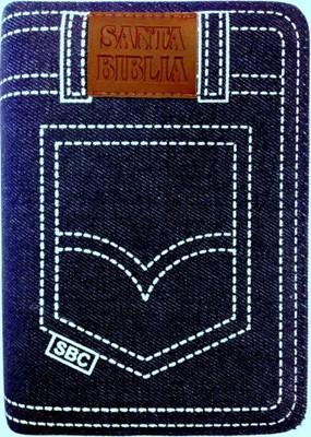 RVR 1960 Biblia Jean de Letra Grande con Índice y Zíper