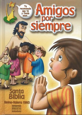 RVR 1960 Biblia Amigos por Siempre (Tapa Dura)