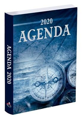 Agenda Prats 2020 - Brujula (Vinil Azul)