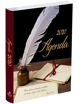 Agenda Prats 2020 - Pluma (Vinil Chocolate)