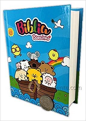 RVR 1960 Biblia Borlitas para Niños (Tapa Dura)