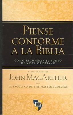 Piense Conforme A La Biblia (Tapa Dura)