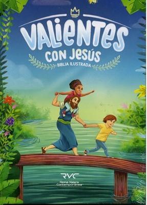 RVC Biblia Valientes con Jesús (Tapa Dura)