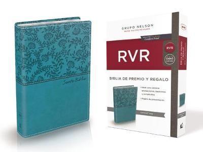 B -  RVR Premio Y Regalo,  Imit Piel, Aqua (Rústica)