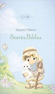 Santa Biblia Precious Moments NVI (Acolchada)