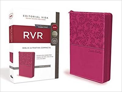 B - RVR  Ultrafina Compacta, Leathersoft Con Cierre (Piel)