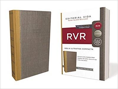 B - Rvr Santa Biblia Ultrafina Compacta, Tapa Dura (Tapa Dura)