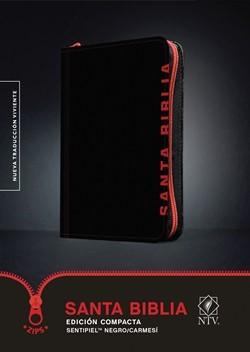 B-Ntv Edicion Ziper Compacta Negro-Carmesi (Tapa Dura)