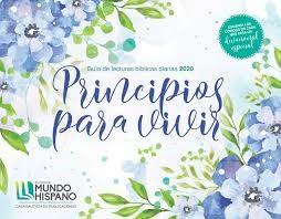 Calendario Mundo Hispano 2020 Principios Para Vivir Lujo (Rústica)