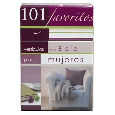 101 Versículos Favoritos (Cartòn)