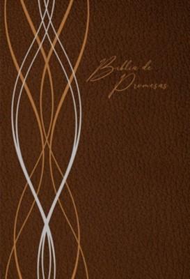 Biblia de Promesa / Letra Grande /Cafe Moderno (Tapa Rústica)