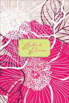 Biblia de Promesa / Letra Grande / Floral Moderno