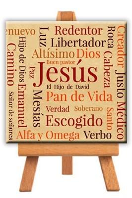 Minilienzo Nombres de Jesús (Lienzo)