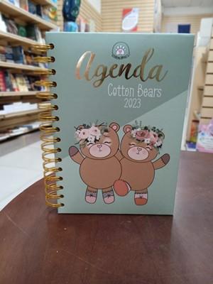 Agenda 2020 Cotton Bears (Tapa Dura Espiral Acolchonada)
