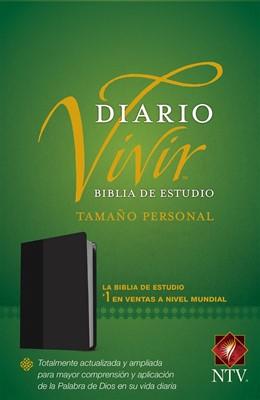 NTV Biblia Diario Vivir (Tapa sentipiel negro, tamaño personal)