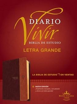 RVR 1960 Biblia de Estudio del Diario Vivir Letra Grande (Tapa Dura)