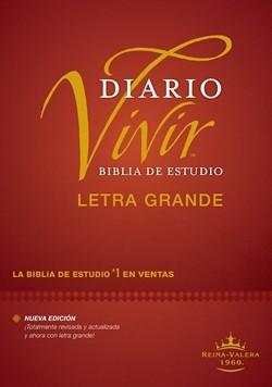 RVR 1960 Biblia de Estudio Diario Vivir Letra Grande (Tapa Dura)