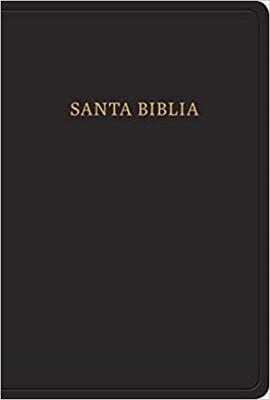 RVR 1960 Biblia Letra Grande Tamaño Manual (Imitación piel, negro)