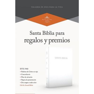 RVR 1960 Biblia para Regalos y Premios (Imitación Piel, Blanco)