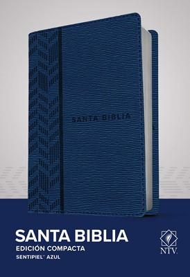 NT Biblia Edición Compacta (Tapa sentipiel azul)