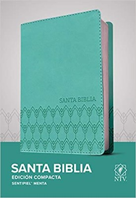NTV Biblia Compacta - Menta (Tapa sentipiel menta)