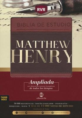 RVR Biblia de Estudio Matthew Henry